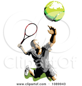 tennis serve tossing